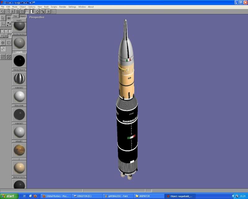 lander - Missione Poderosa Lunar Lander Primi210