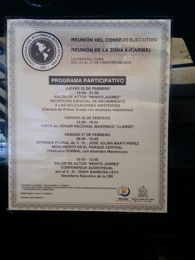 Confederación Masónica Interamericana CMI Reunión del Consejo Ejecutivo 12800110