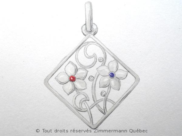 Quelques dessins de pendentif argent. Dscn8516