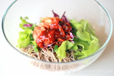 Món mỳ lạnk kụa kák pák Nhật Bản ạk :D Somen219