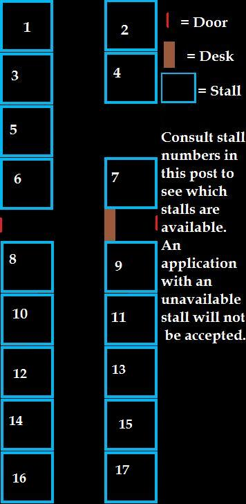 Stall numbers/map Map11