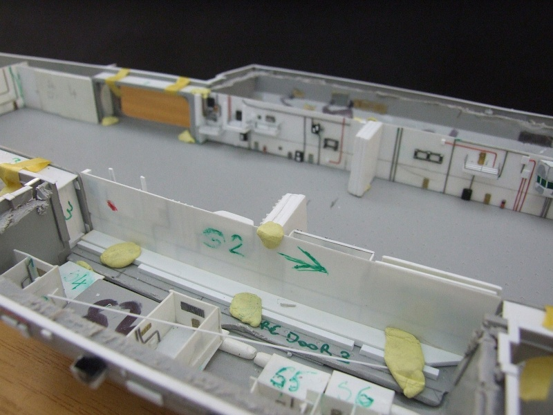 My new project..USS Nimitz CVN 68 1976  - Page 5 Dscf8243