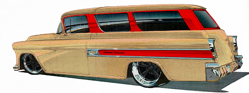 Jimmy Flintstone '55 - '57 Chevy Suburban - Page 2 57burb10