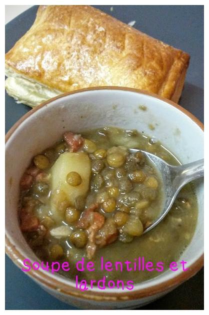 Soupe de lentilles aux lardons Soupe_10