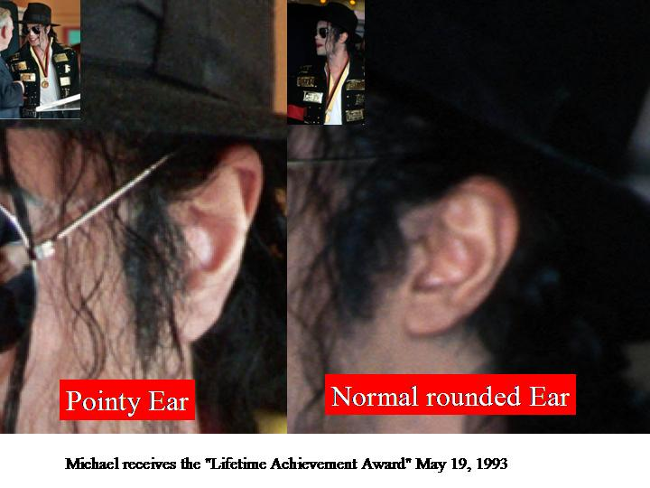 'Michael with the weird looking ear in 1996 Slide115