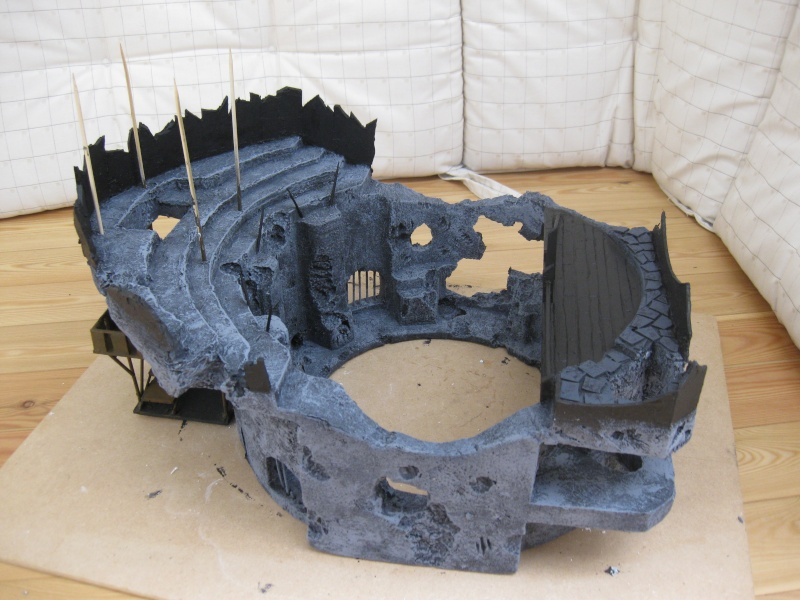 My first serious scenery making adventures: The Arena Img_3010