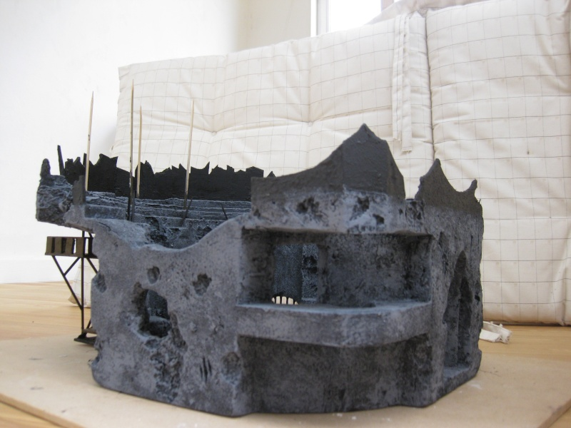 My first serious scenery making adventures: The Arena Img_3011