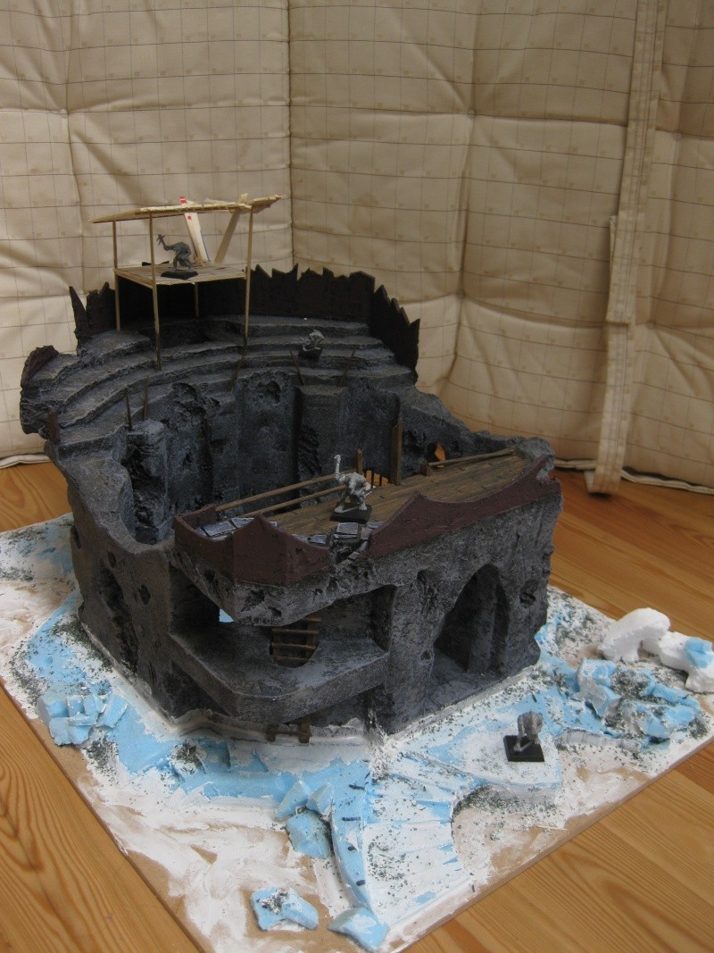 My first serious scenery making adventures: The Arena Img_3311