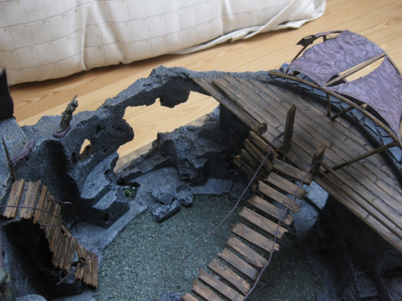 My first serious scenery making adventures: The Arena Img_3920