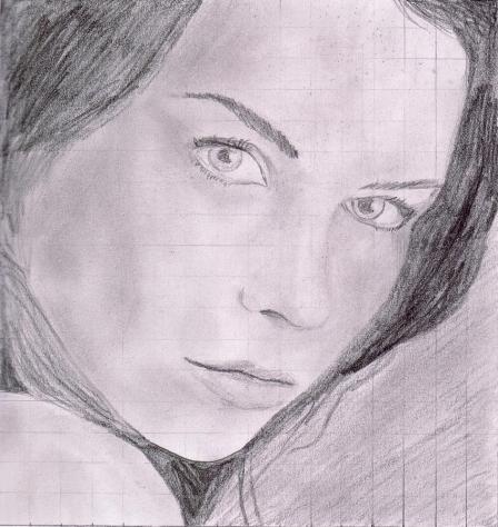 2e essai portrait avec mise au carreau. 12aout11