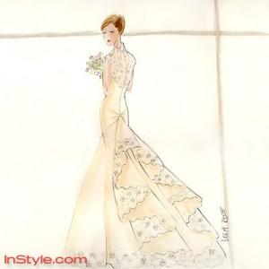 [Breaking Dawn - Part1] La Robe de mariée de Bella (Spoilers) Lelaro10