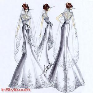 [Breaking Dawn - Part1] La Robe de mariée de Bella (Spoilers) Moniqu10