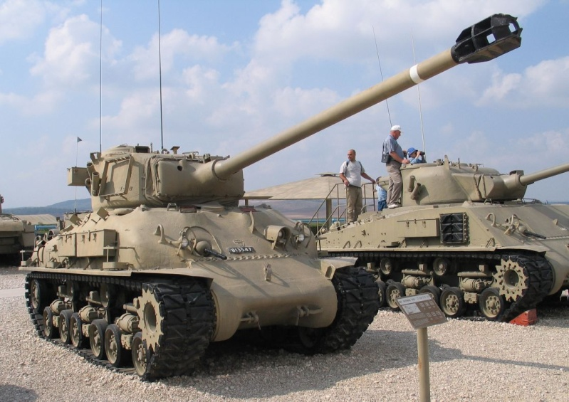 Les shermans d apres guerre M51-is10