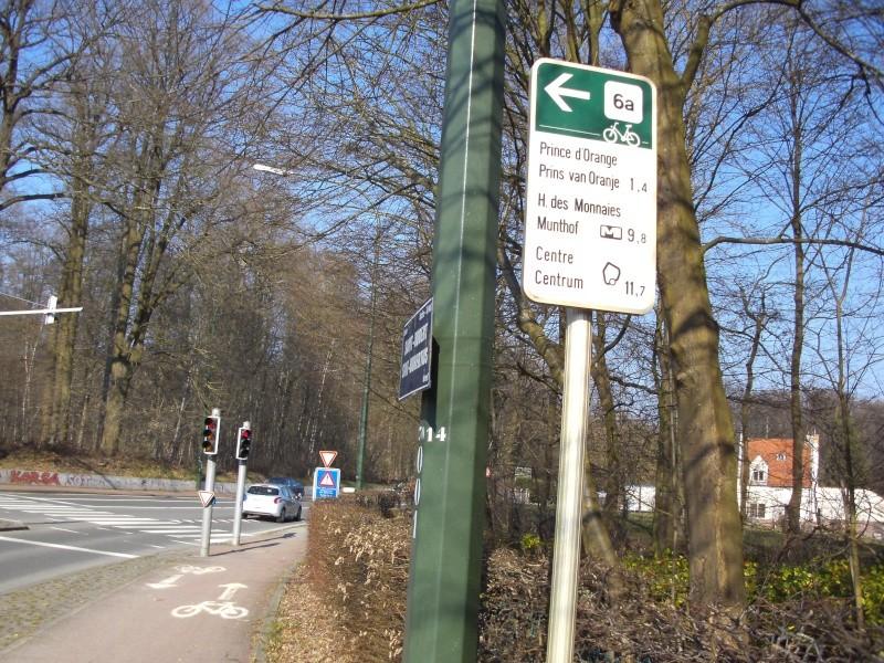 01 Itinéraire N°0 W0 Véloroute des capitales - Partie Bruxelles - La Hulpe (RV10 - EV5) 6a_st_10