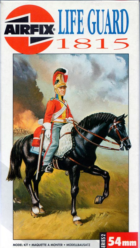 British Life Guard 1815, Airfix - 54 mm Lifegu10