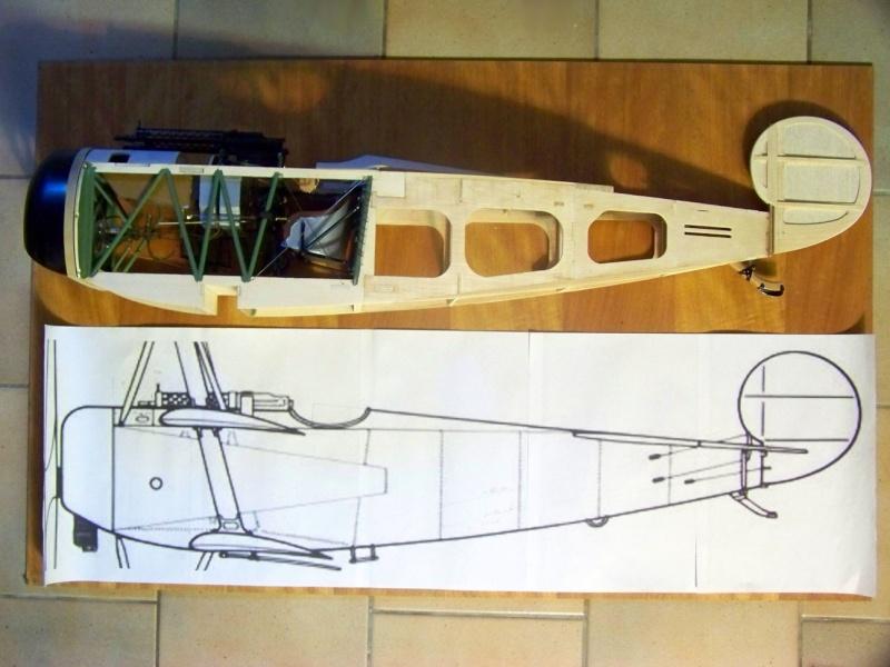 Fokker DR.I  -  DeAgostini-Umbau, M 1:6 Rumpf_11
