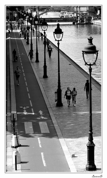 Canaux de Paris, sortie photos du 6 septembre 2009 _bd02717