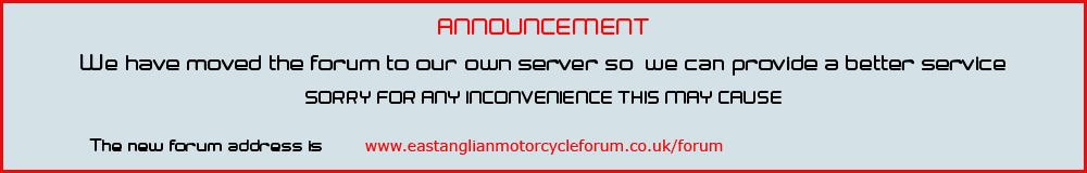 East Anglian Motorcycle Forum
