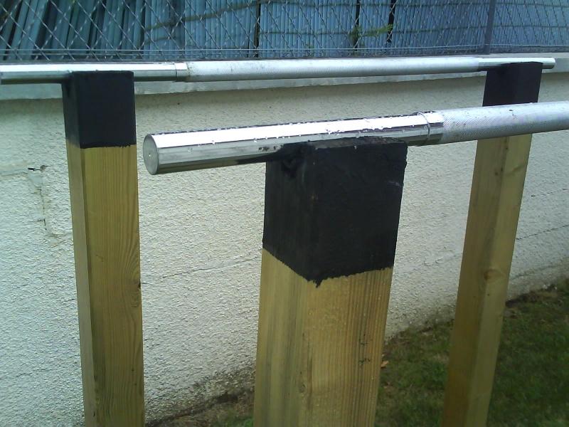 Fabriquer ses barres parallèles sans se ruiner Dsc00510