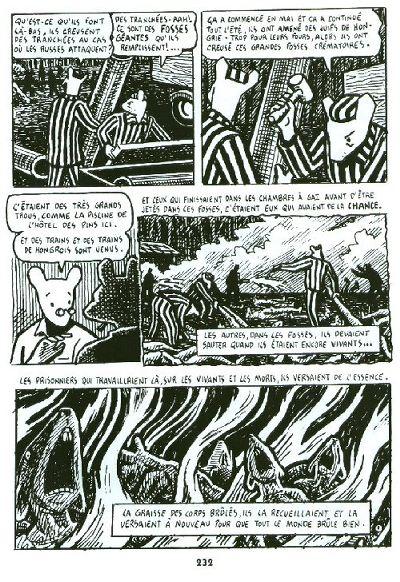 Maus - Série [Spiegelman, Art] Planch13