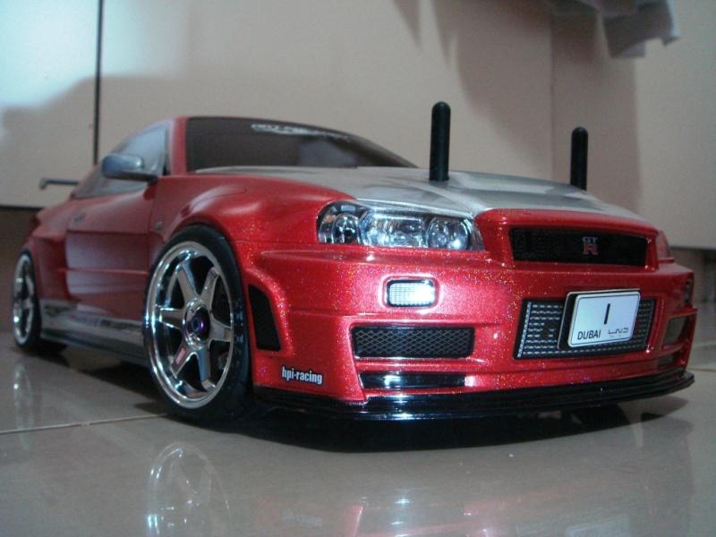 My New R34 Nissan Skyline 410