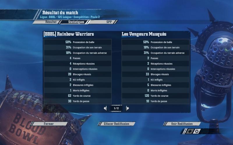 [CDM J4] (Momienova) Rainbow Warriors   1 - 2   Les Vengeurs Musqués (Oscar) 2016-028