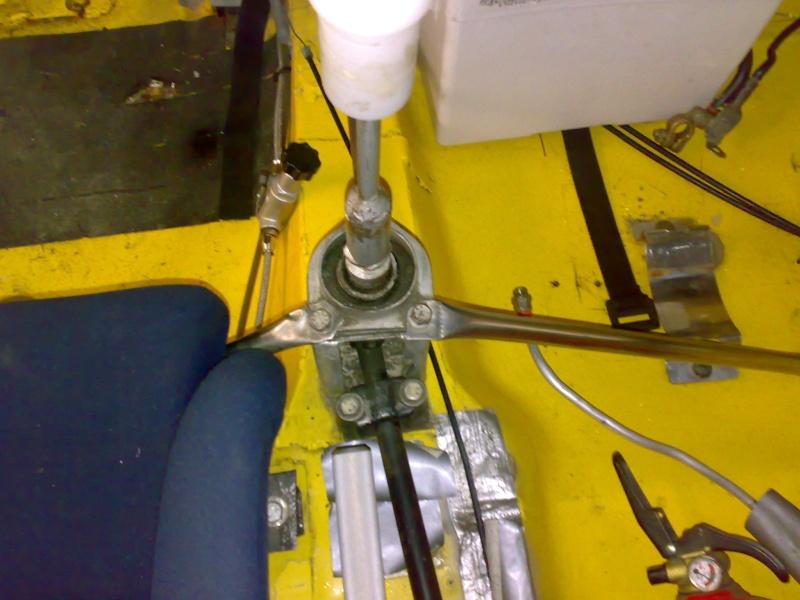 levier de vitesse pour boite hewland 115