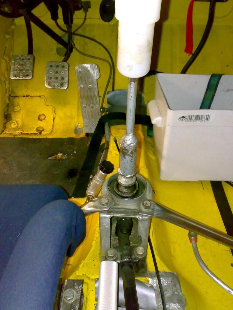 levier de vitesse pour boite hewland 310