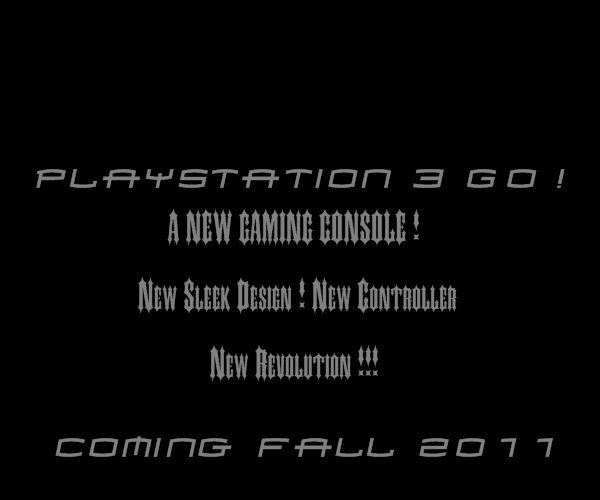 The PlayStation 3 Go ! Real Or Fake ? Ps310