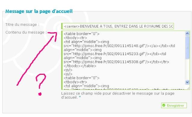 Editeur étendu (HTML) sur le panneau d'admin invisible sous Google Chrome Gg10