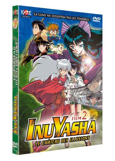 Inu Yasha dvd 2 le chateau des illusions Inuyas10
