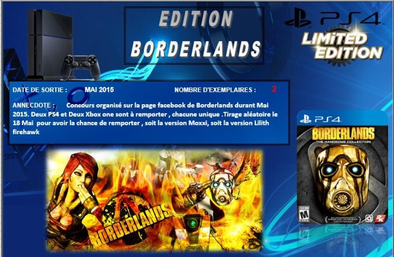 PLAYSTATION 4 : Edition BORDERLANDS Border10