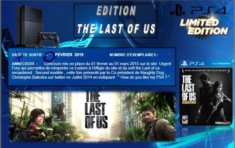 PLAYSTATION 4 : Edition THE LAST OF US   Last_o10