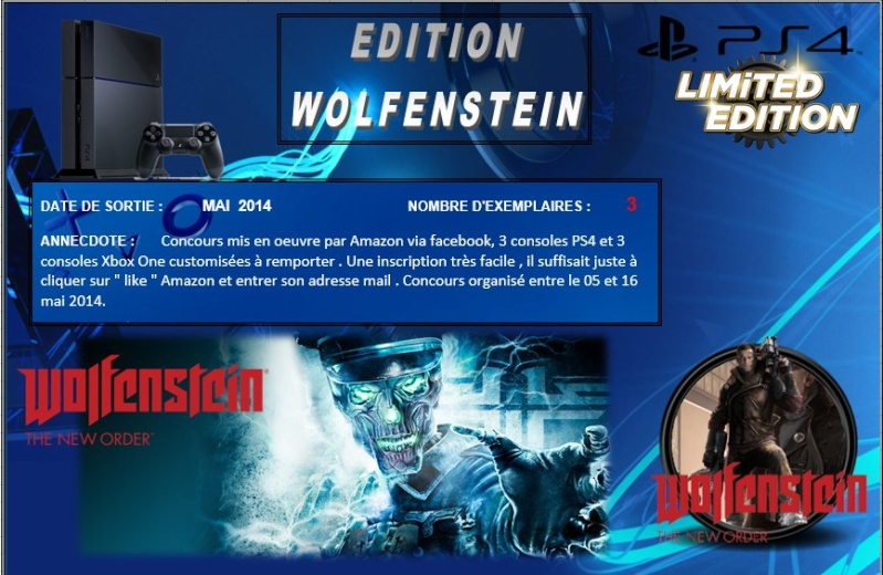PLAYSTATION 4 : Edition WOLFENSTEIN Wolfen10