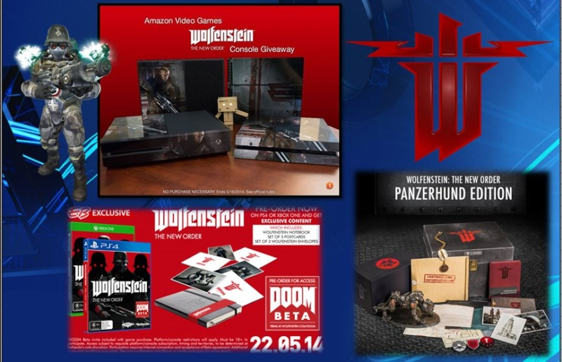 PLAYSTATION 4 : Edition WOLFENSTEIN Wolfen12
