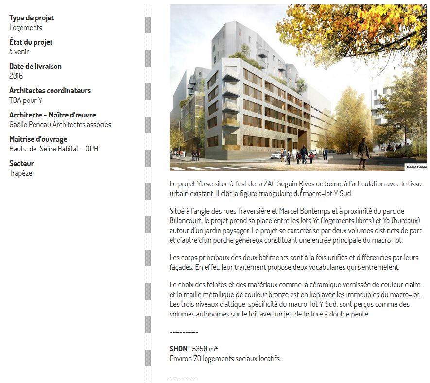 Informations logements sociaux YB Clipbo21