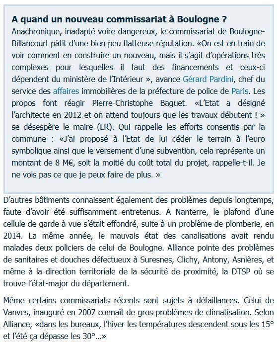 Commissariat de Boulogne-Billancourt Clipbo62