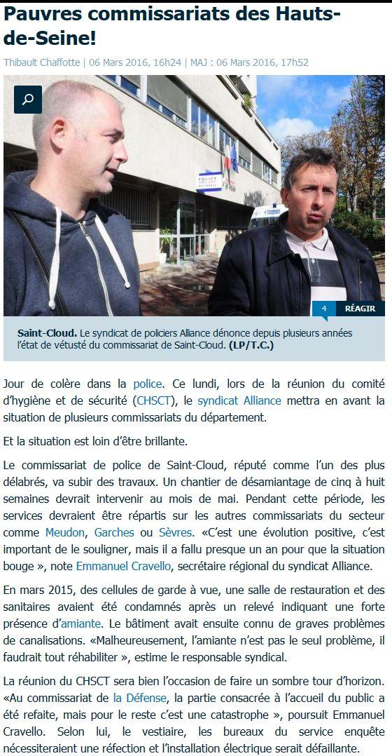 Commissariat de Boulogne-Billancourt Clipbo64
