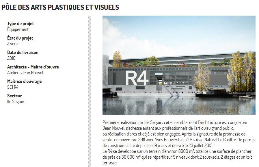Ancien projet de pôle d'art contemporain R4 de Natural Lecoultre Clipbo96