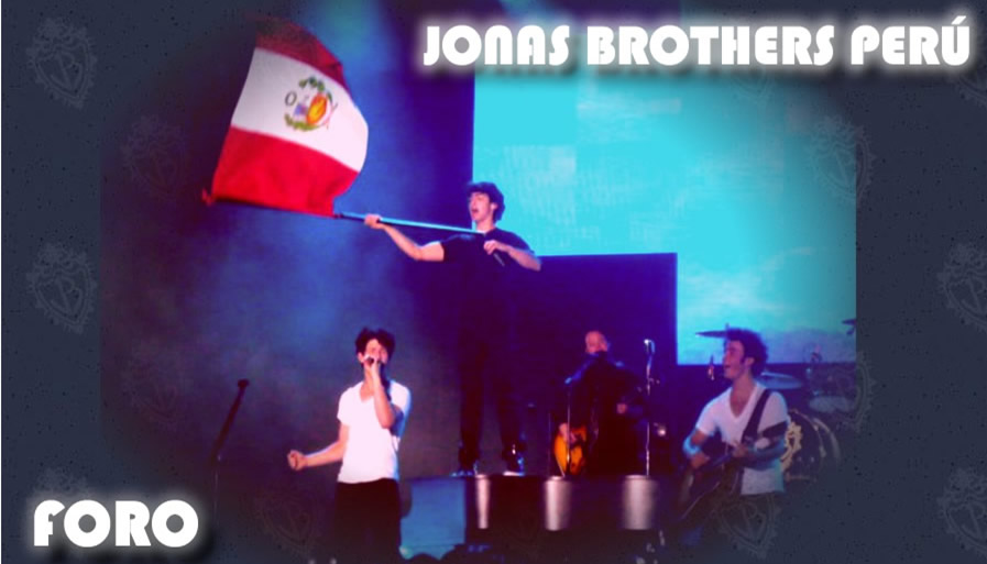 The Jonas Brothers Peru