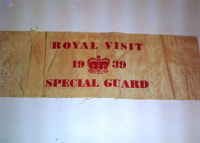 1939 Royal Visit arm band Suffie10