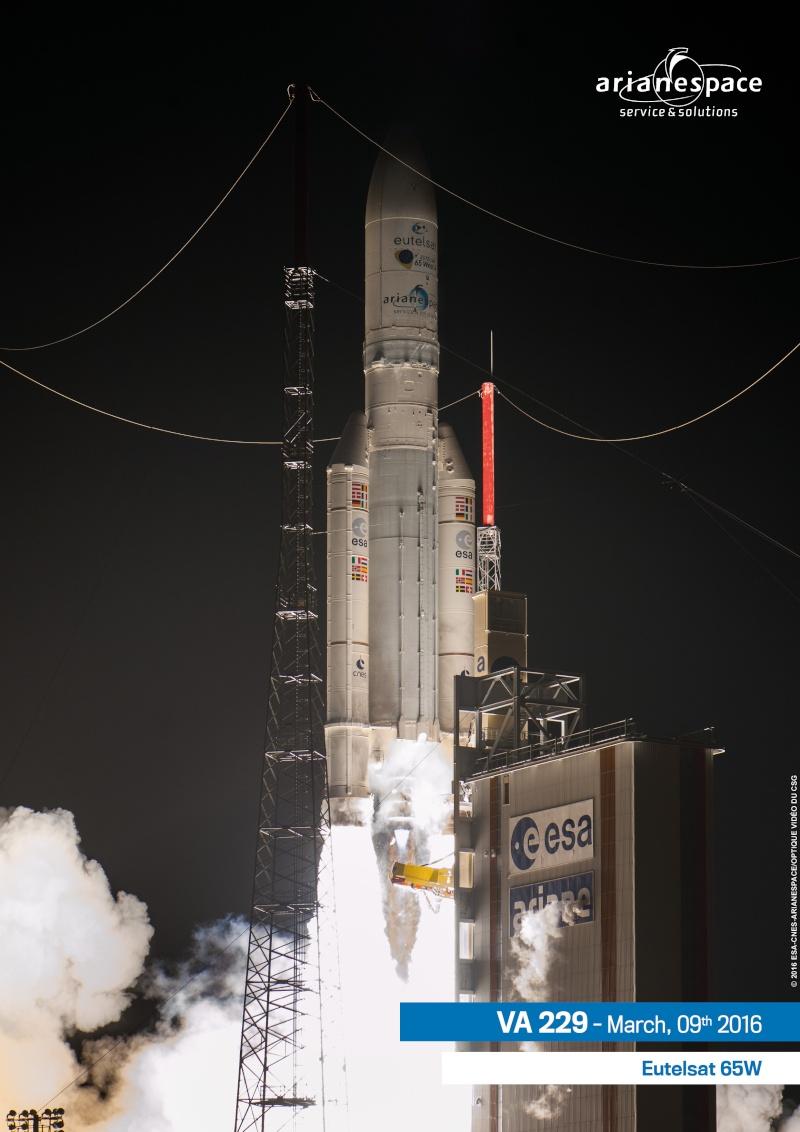 Lancement Ariane VA229 - Eutelsat 65 - 9 mars 2016   - Page 2 Va229-10