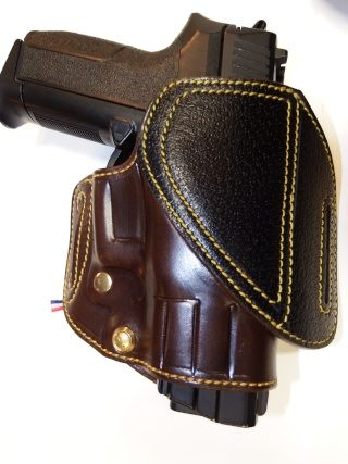 "HOLSTER CUIR  port civil : ""le 127"" by SLYE  Dscf3651"