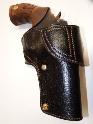 "HOLSTER CUIR  port civil : ""le 127"" by SLYE  Dscf3725"