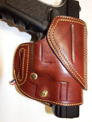 "HOLSTER CUIR  port civil : ""le 127"" by SLYE  Dscf3726"