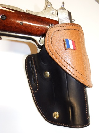 "HOLSTER CUIR  port civil : ""le 127"" by SLYE  Dscf3730"