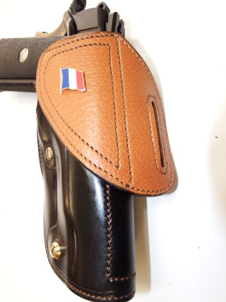 "HOLSTER CUIR  port civil : ""le 127"" by SLYE  Dscf3731"