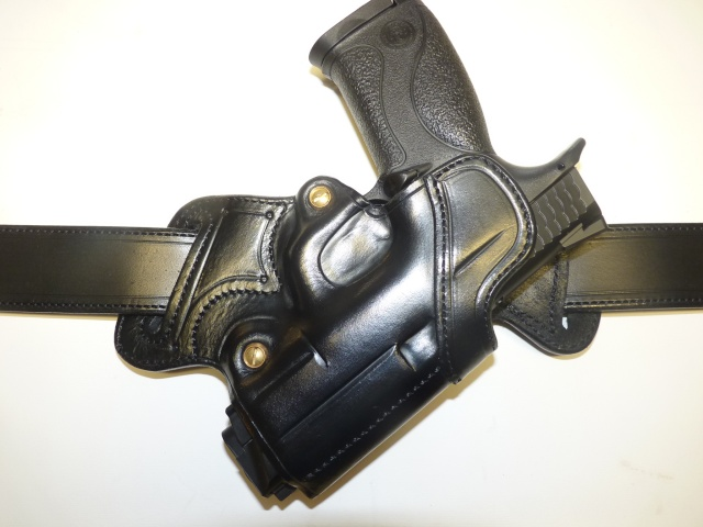 """S &W MP9 HOLSTER """"BACK to BACK""""  by SLYE   P1090810"""