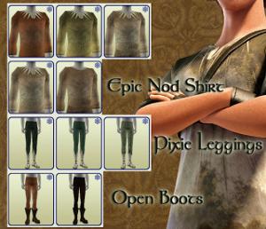 Старинные наряды, костюмы - Страница 3 Image307
