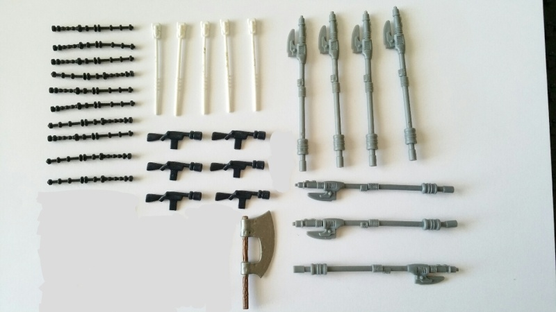 FS: POCH Fett / Ledy MOC / Over 300 Weapons and Accessories 20160214